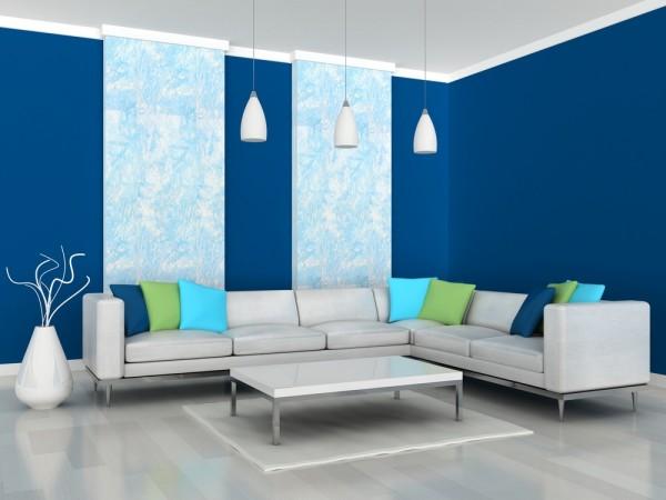 cat  tembok warna  biru  Cat  Tembok