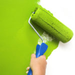 Daftar Harga Cat Tembok 2016 : Painting White Wall With Green Paint